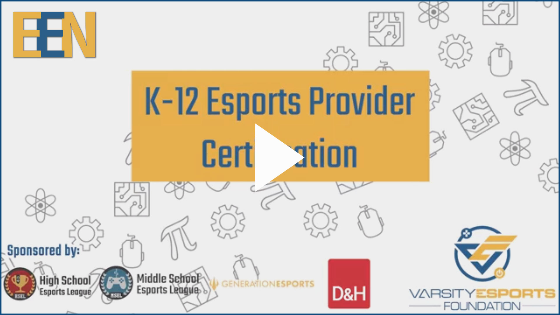 EEN Esports Certification