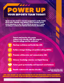 Power Up Your Esports Team Today!