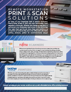 Remote Workstation Print & Scan Solutions