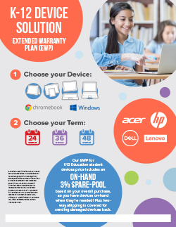 K12 Device Solutions: Extended Warranty Plan (EWP)